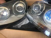 GENUINE VW GOLF MK5 XENON HEADLIGHTS PAIR R32 GTI