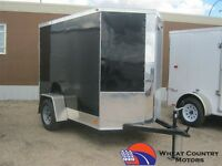 2013 Cross Trailers 5x8 Alpha Series Cargo Arrow Wedge Rear Ramp