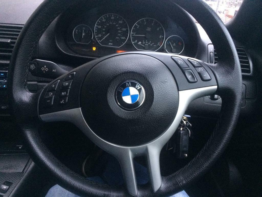 bmw e46 m sport steering wheel in bradford west. Black Bedroom Furniture Sets. Home Design Ideas