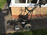 Powakaddy Freeway Titanium golf trolley with charger and 2 x batteries