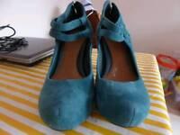 Clarks womens heels