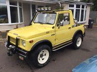 Suzuki SJ410 Soft Top 4x4 in Excellent Condition 1986
