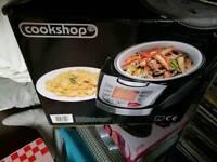 Cookshop steamers