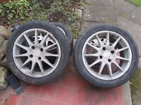 """Nissan Alloys from Primera GT le Made by Enkei 16"""" - Set of 4"""