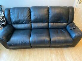 Leather recliner 3+2 sofas