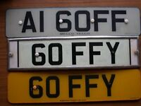 PERSONAL NUMBER PLATES