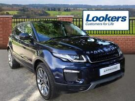 Land Rover Range Rover Evoque TD4 SE TECH (blue) 2016-09-14