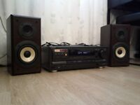 TECHNICS AMP+TECHNICS SPEAKERS