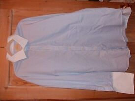 Hawes and Curtis classic fit double cuff shirt, never worn.