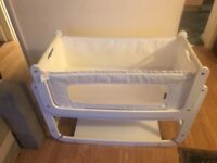 SnuzPod bedside crib. It Was used for 7 month. Still in good condition