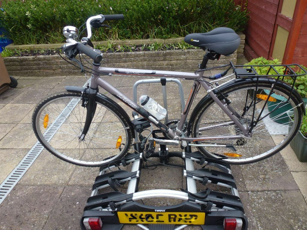 with sport rover side bike rack extreme land discovery bicycle duty hitch view exterior carrier landrover