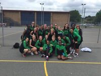 GD AND GK NETBALL PLAYERS WANTED FOR SATURDAY MATCHES