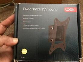 """LOGIK Fixed small TV mount( for 26"""" or smaller screens)"""