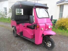 MONIKA TUK TUK - Genuine Auto Rickshaw from Thailand