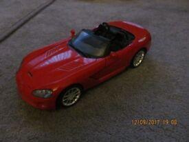 Maisto Dodge Viper SRT-10 1/18 Scale