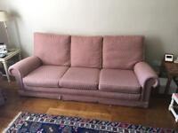 3 seater sofa good condition - Warwick
