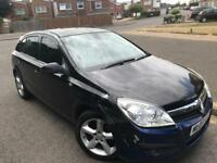 Vauxhall Astra 1.8 design 1.8 auto, sport, 2007, black, 5 doors, leather, mot Dec 2018,
