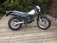 Yamaha tw 125 not cg cbr yzfr125 dt cbt learner legal road legal motor home