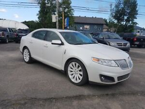 2011 Lincoln MKS 3.7L 6CLY AWD CAMERA DE RECULE GPS CUIR TOIT PA