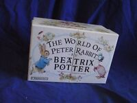 19 Beatrix Potter books in display box