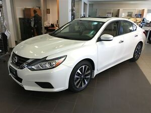 2016 Nissan Altima 2.5 SL Tech WHITE ON TAN FULLY LOADED