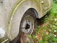 viking fiberline vintage caravan