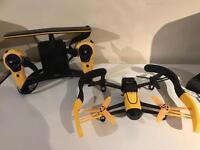 Parrot bepop drone with sky remote over 2k range