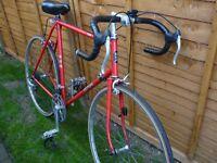 BSA prima retro road bike, 1980 model, 10 speed, in good order, ready to ride away