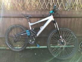 Saracen raw 3 Full Suspension Mountain Bike Will Post