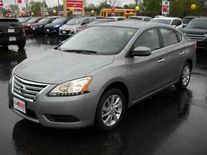 2014 NISSAN SENTRA 1.8 SV LUX - SUNROOF, HEATED SEATS, BLUETOOTH