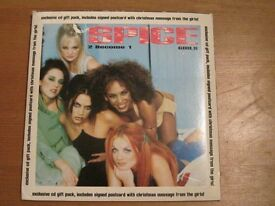 spice girls 2 become 1 exclusive gift pack rare cd