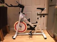Premium crystal tec spinning bike