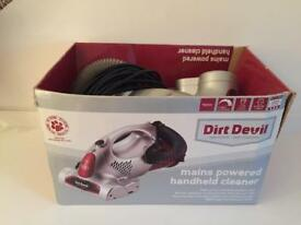 Dirt Devil DHC001 in great condition (only used a few times - with spare filter)