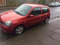 Renault Clio 1.2 manual petrol 2006