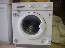 Washer/Drier Electrolux EWD12141 - Integrated - Hot & Cold Fill - Working Order - Cheltenham Area