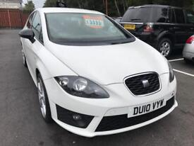 ***SEAT LEON FR CR 170Bhp DIESEL 2010 ONE OWNER***