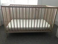 FS: Ikea baby cot and mattress, only used for 6 months!