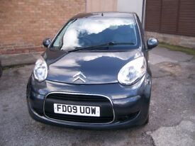 CITROEN C1 VTR. 67.690 Miles. One Owner. Service History. 998cc. Petrol .Manual. Grey 3 Door.