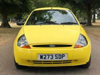 2000 FORD KA 1.3 COLLECTION (MILLENIUM PRODUCT) MOT FEB 2019