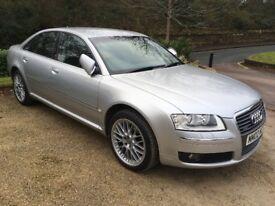 Audi A8 SE 3.0 Quattro 2007 Silver 59,400 miles