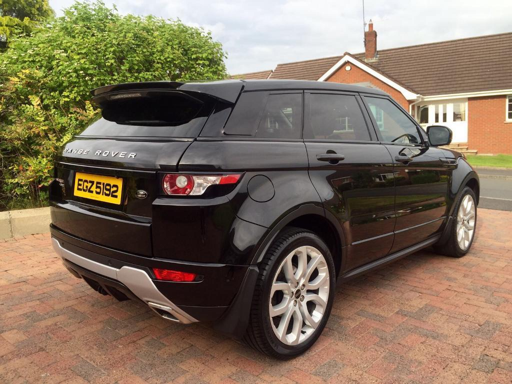 2012 range rover evoque dynamic lux sd4 auto top of the range in county antrim gumtree. Black Bedroom Furniture Sets. Home Design Ideas