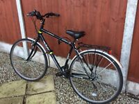Men's Raleigh Activ Trekking bike. Hardly used excellent condition £75 collect only