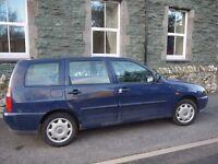 VW Polo Estate 88k miles - Needs new starter motor