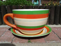 Giant Cup & Saucer Planter