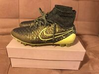 Nike Magista Obra AG-R UK 7.5 EUR 42 Black/volt Citron