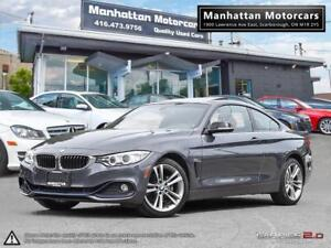 2014 BMW 428i X-DRIVE |NAV|CAMERA|1 OWNER|WARRANTY|RED INTERIOR