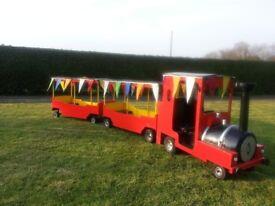 Petrol Land Train /Bouncy Castle add on/ Fairground/ Fundays/ Entertainment