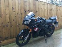 Lexmoto xtr 125cc 2015 yzfr125 Honda cbr cbf rs aprilia