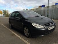 2004 Peugeot 307 hdi, 1 owner, 2 keys, hpi clear Bargain