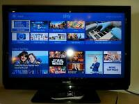 32inch HD ready Sharp TV with freeview.